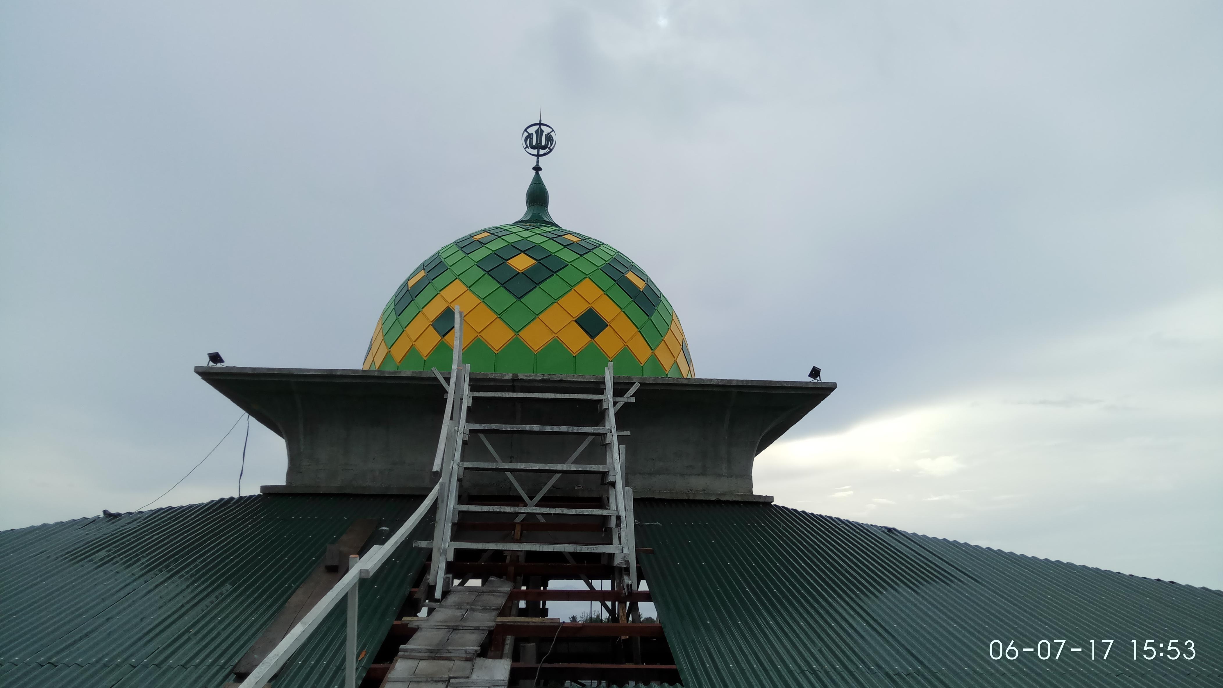 Kubah Masjid Al-Muttaqin Ternate Maluku Utara