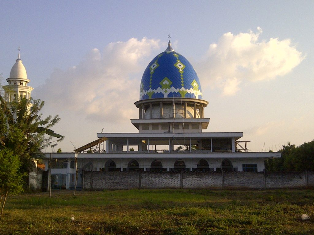 Kubah Masjid Lamongan