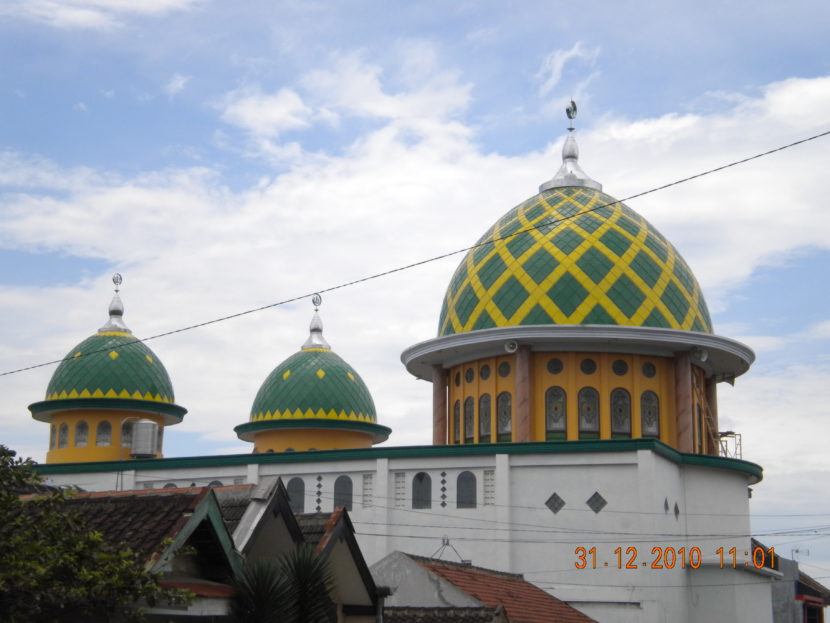 Kubah Masjid Nurul Huda Malang