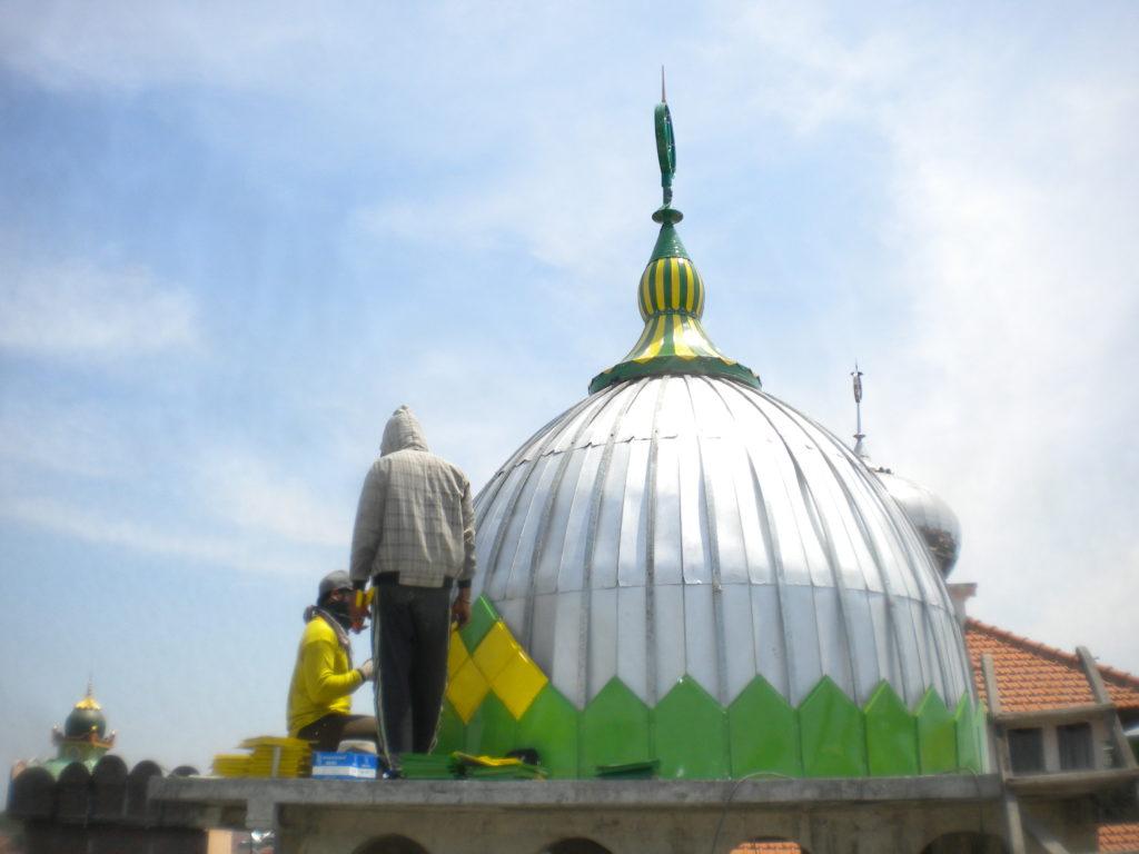 Kubah masjid Kedungdoro Surabaya